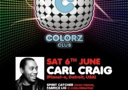 Le Colorz présente Carl Craig ce 6 juin 2009