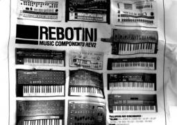 Rebotini - Music Components Rev2 - Citizen Records