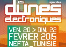 Les Dunes Électroniques 2015 du 20 au 22 février (Tunisie)